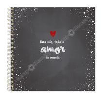 Álbum scrapbook amor wire-o - Scrap Memory