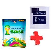 Álbum Vazio Copa Do Mundo 2014 + Capa Protetora Oficial - Panini