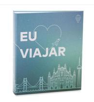 Álbum Viagem 200 Fotos 10x15cm Com Ferragem - Ical 556 -