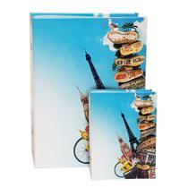 Álbum viagem 500 fotos 10x15 ical+ brinde 120 fotos souvenir -