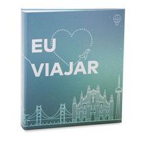 Album Viagem Ferragem Folha Branca 300 Fotos Amo Viajar - Ical