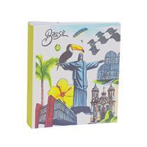 Album Viagem Ferragem Folha Branca 300 Fotos Brasil Cristo - Ical