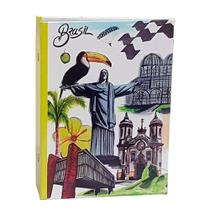Álbum Viagem Rebites 120 Fotos 10x15 Ical Brasil Cristo -