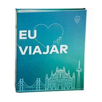 Álbum Viagem Rebites  120 Fotos 10x15 Ical Eu Amo Viajar -