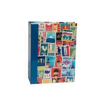 Álbum Viagem Rebites 120 Fotos 10x15 Ical Selos Colorido -