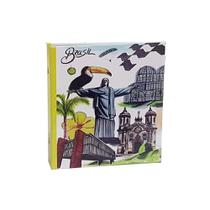Álbum Viagem Rebites 500 Fotos 10x15 Ical Brasil Cristo -