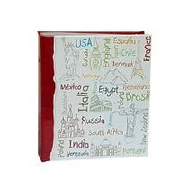 Álbum Viagem Rebites 500 Fotos 10x15 Ical Países -