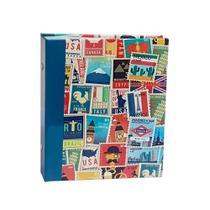 Álbum Viagem Rebites 500 Fotos 10x15 Ical Selos Colorido -