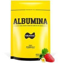 Albumina 500g Morango - NaturOvos -