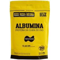 Albumina - 500g Refil Banana - Naturovos -