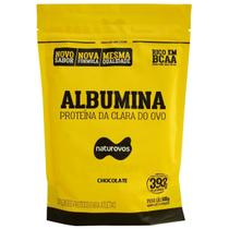 Albumina - 500g Refil Chocolate - Naturovos -