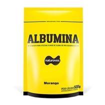 Albumina - 500g Refil Morango - Naturovos -