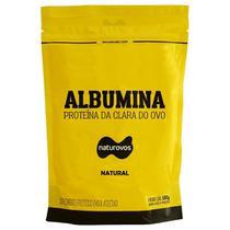 Albumina - 500g Refil Natural - Naturovos -