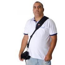 Alça Unica Em Tecido Preta Para cameras dslr profissionais - Dedcases