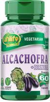 Alcachofra Com Beringela 400mg 60 Vegan Caps Unilife -
