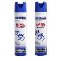 Alcool 70% Coperalcool Aerosol Spray 360ml Bacfree - 2 Frascos -