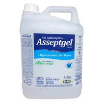 Alcool Em Gel 4,3kg Asseptgel Cristal - Star Quimica