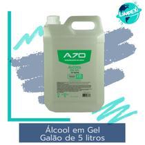 Álcool em Gel 70% - Galão 5 litros - A70