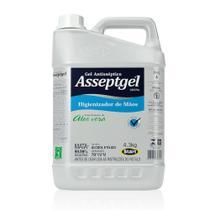 Alcool em Gel Antisseptico para Maos 70% 4,3Kg 1 UN Asseptgel -