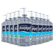 Álcool Gel 70 Asseptgel Bactericida Higienizador de mãos - kit com 10 Frascos - Start