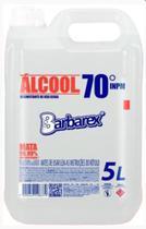 Álcool líquido etílico 70% Barbarex 5 litros -