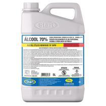 Álcool líquido Start 70% 5 litros - Start Química -