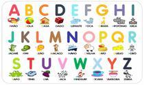 Alfabeto e Números Ilustrado - Brinquedo Educativo Pedagógico - Ateliê Da Decoração