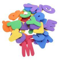 Alfabeto Eva Colorido Didático Pedagógico 26 Peças - Evamax