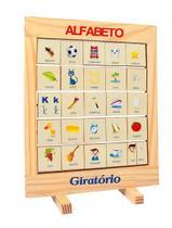 Alfabeto Giratorio Quadro Med. 32X24X2 Cm - Editora fundamental