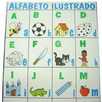 Alfabeto Ilustrado em E.V.A - Piffer -