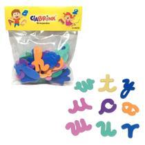 Alfabeto Infantil Minusculo em Eva com 26 Letras  Ciabrink -