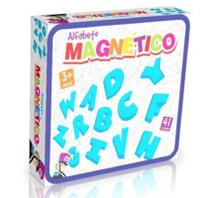 Alfabeto Magnético em EVA - Brinquedo Educativo 3 anos - Conceito Básico