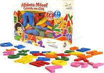 Alfabeto Movel Colorido Eva Com 72 Peças - Editora fundamental
