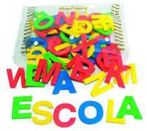 Alfabeto Movel Em E.V.A. , 72 Letras , 5Cm De Altura - Jottplay