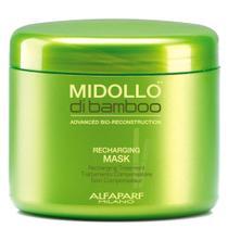 Alfaparf Midollo di Bamboo Recharging Mask - Máscara de Restauração -