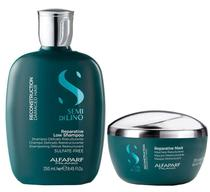 Alfaparf Semi Di Lino Kit Reconstruction Shampoo (250ml) e Máscara (200ml) -