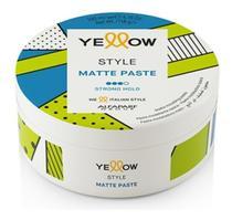 Alfaparf Yellow Style Matte Paste Efeito Opaco 100ml -