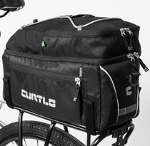 Alforje Rack Pack Bike + Bolsa Mão E Alça Lateral - Curtlo -