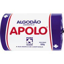 Algodão Hidrófilo 500g - 2 unidades - Apolo -
