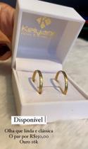 Aliança de ouro - Kelyane Jóias & Acessórios