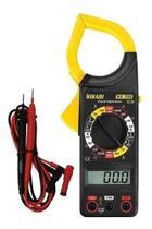 Alicate Amperímetro Digital Hikari Ha-266 + Estojo + Bateria -