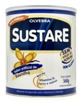 Alimento com Soja Sem Açúcar Baunilha Sustare 360g - Olvebra