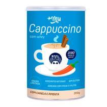 Alimento Proteico Cappuccino Com Canela E Pimenta +Mu 200g -