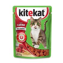 Alimento Úmido KiteKat Carne ao Molho -