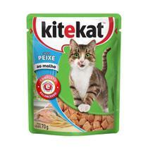Alimento Úmido KiteKat Peixe ao Molho -
