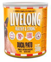 Alimento úmido Livelong para Gatos - Pato 300g -