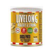 Alimento Úmido para Cães sabor Pato 300g - Livelong -