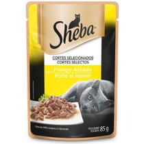 Alimento Úmido para Gatos Adultos Sheba Frango Assado -