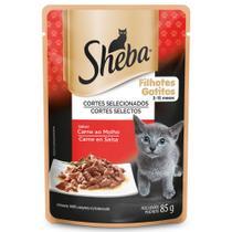 Alimento Úmido para Gatos Filhotes Sheba Carne ao Molho -
