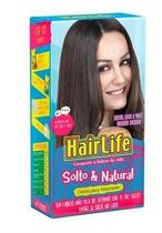 Alisante HairLife 160gr Solto  Natural Kit - Embelleze